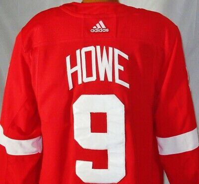 e6614623e Detroit Red Wings NHL Hockey Jersey Gordie Howe #9 C Adidas Authentic NWOT  2XL