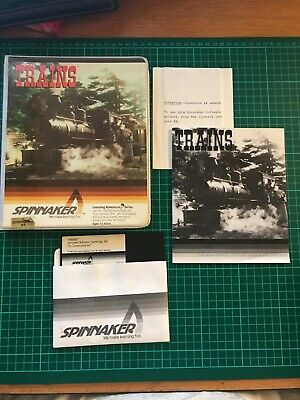 Trains - Spinnaker Software Commodore 64 C64