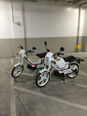 2 1993 Tomos A35 Bullet moped scooters -- 49cc