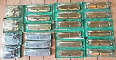 Vintage Lot of (22) AMEROCK Sash Lifts & Locks - Brass Plated & Chrome Plated