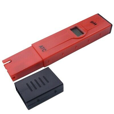 4X(Pen-Type Digital Aquarium Ph Meter Temperature Compensation Atc Lcd WateI4R5