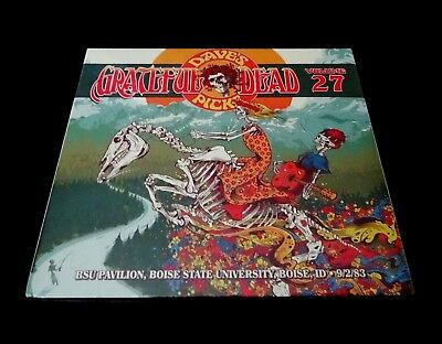 Grateful Dead Dave's Picks 27 Twenty Seven Boise State BSU Idaho 9/2/1983 3 CD