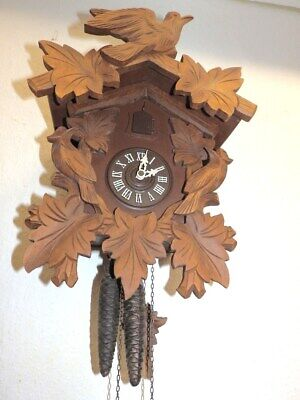 Black Forest Cuckoo Clock  Clock 1950 - 1980 Nice Condition