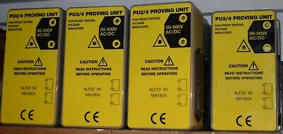 Proving Unit PU2/4 - for safety checking voltage indicators/test lamps - New