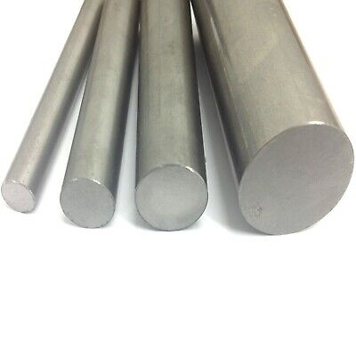 "Bright Mild Steel Round Bar 1/4"" to 1"" - 8mm to 25mm - EN1A Rod"