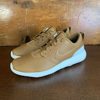 773627cf2cc NIKE ROSHE TWO MEN'S Size 8 LEATHER PRM 2 PREMIUM TEAM RED GUM ...