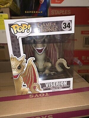 Viserion 6in Funko Pop #34 Game Of Thrones