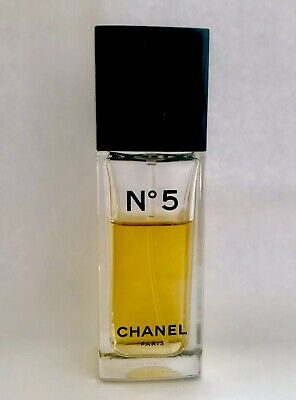 Vintage Authentic Chanel No.5 Women's Eau de Toilette 1.2 FL Oz