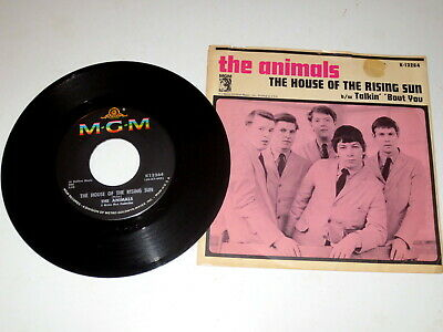 The house of the rising sun / Talkin' 'bout you    The Animals    M-G-M   1964