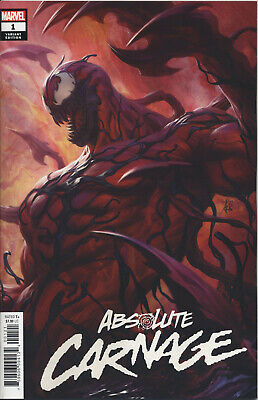 Absolute Carnage #1 (Of 4) Artgerm Var Ac - Marvel Comics - Us-Comic - K608