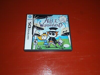Alice in Wonderland (Nintendo DS, 2010) -No Manual