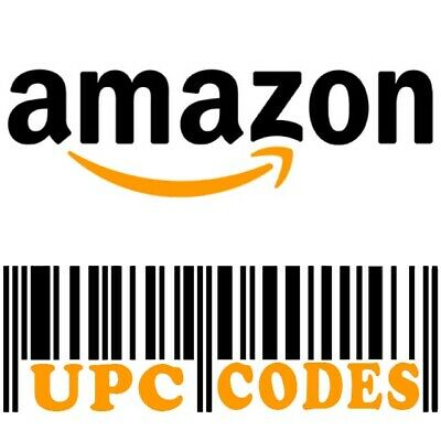 X5000 UPC EAN Code Numbers Barcodes Bar Code for Amazon GS1 ECommerce AU US EU