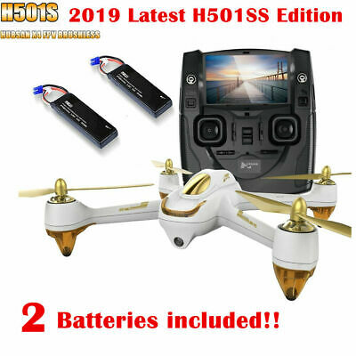 Hubsan H501S S X4 Drone FPV Brushelss Quadcopter 1080P Follow Me GPS Drone RTF