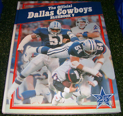 1984 THE OFFICIAL DALLAS COWBOYS Bluebook Volume 5 RANDY WHITE 25th