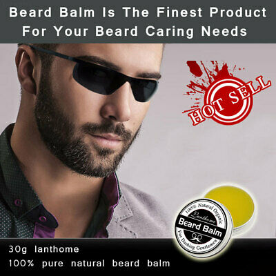 41EA 30g Moustache Ointment Gift Men Natural for Lanthome Moustache Wax