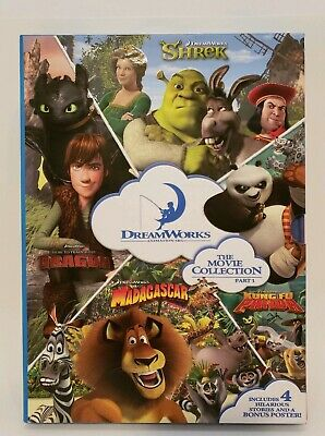 DreamWorks The Movie Storybook Collection Part 1