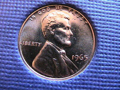 1965 ( Special Mint )  Lincoln Cent