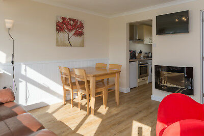 UK 8 June couples holiday let self catering chalet Norfolk Broads Great Yarmouth