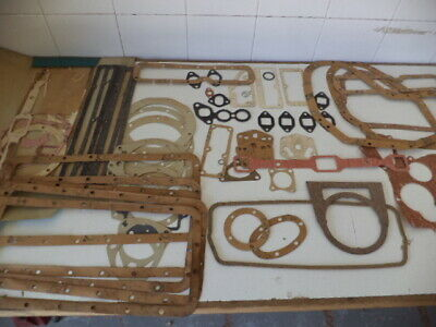 Payen/Perkins Nos Bottom/Top Gaskets Mf 25,Mf30,Mf130,4.107 & Others Incomplete!