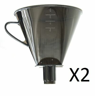 RSVP Direct Brew Pour Over Coffee Filter Cone Camping Compact Maker (2-Pack)