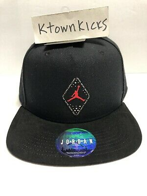 55754ca2 Nike Air Jordan Jumpman SnapBack Hat Black CI9318 010 Greatest Player Ever