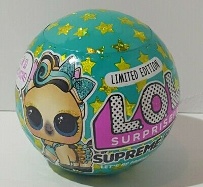LOL Surprise! Supreme Pet Ball Pack Lucky Luxe Pony Limited Edition New Sealed