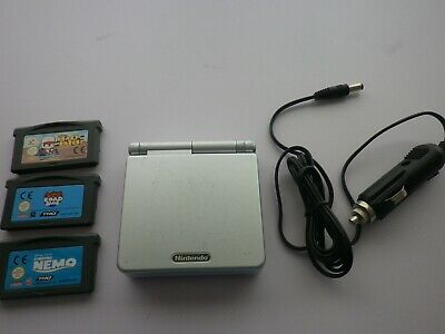 Nintendo Gameboy Advance Sp Console With Games
