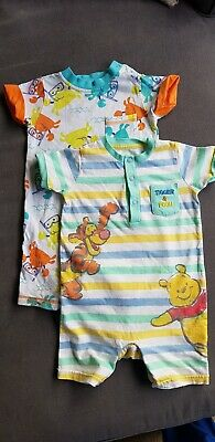 Baby & Toddler Clothing 9-12 Month Winnie The Pooh Romper One-pieces