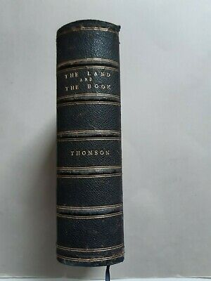 GAZA EDUCATION CHARITY: Rare 1901 Palestine Book 100+ Illustrations Pictures MAP