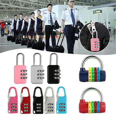 4F1E 3 Digit Password Lock Combination Lock Keyless Lock Portable Coded Padlock