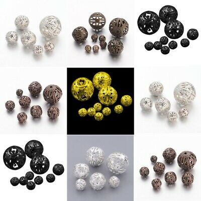 20g Bags Iron Filigree Spacer Beads. 6 Colours Available (F3)
