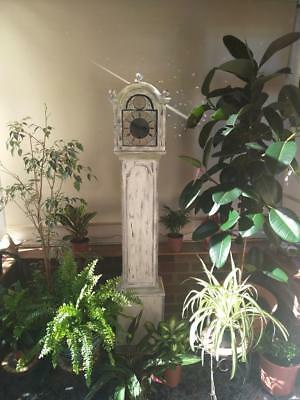 ANTIQUE GRANDMOTHER 1930s SHABBY CHIC GRANDMOTHER CLOCK Includes DELIVEY COURIER