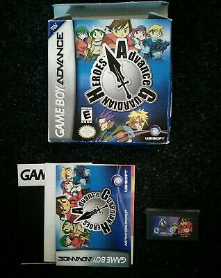 Advance Guardian Heroes Game Boy Advance GBA Tested with Box & Manual Rare