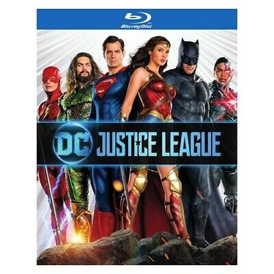 Warner Home Video Br726034 Justice League (2017/Movie/Blu-Ray/Dvd Combo/Dc-Li...