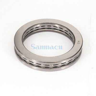 51120 100x135x25mm Axial Ball Thrust Bearing (2 Steel Races + 1 Cage) ABEC-1