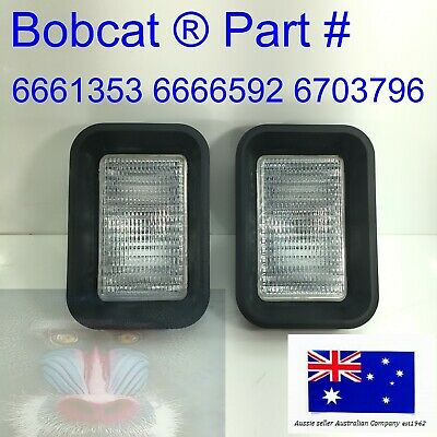 Bobcat 2x 6703796 Rear Tail Light PAIR F 453 553 653 751 753 763 7753 853