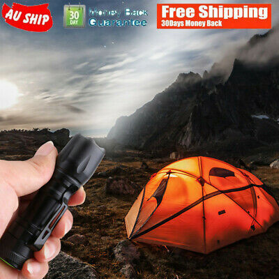 3 Modes Portable Aluminum Super Bright Zoomable LED Flashlight Torch Lamp 14500