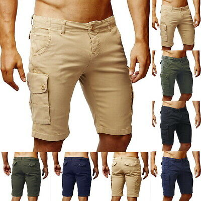 New  Mens Chino Shorts Cotton Casual Summer Half Pant Stretch Slim Fit Short