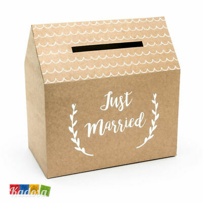 Gift Box Matrimonio Casa Scatola Porta Buste Wedding Card Casetta Country Chabby