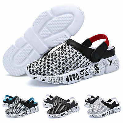 Mens Summer Beach Sandals Slippers Clogs Mules Sports Shoes Flip Flop Sliders A2