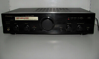 Pioneer A-109 Direct Energy Mos Fet Stereo Amplifier Tested & Working