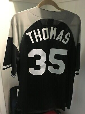 CHICAGO WHITE SOX Frank Thomas #35 Men's Majestic MLB Made In USA Jersey XL