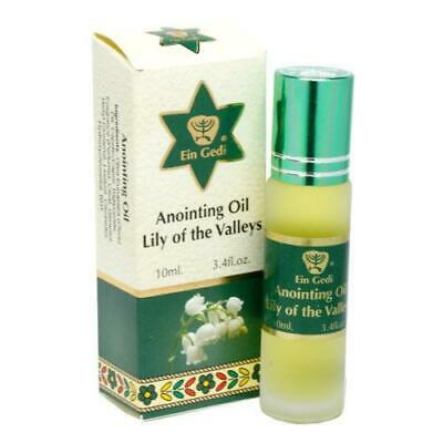 Anointing Oil Lily Of The Valley Roll On By Holy Land Blessed on Jerusalem 10ml