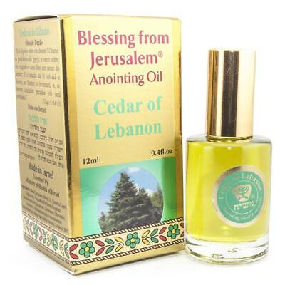 Aromatic Anointing Oil Cedar of Lebanon Biblical Spices Blessed From Jerusalem
