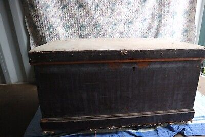 large antique blanket box /chest/ Tool Box