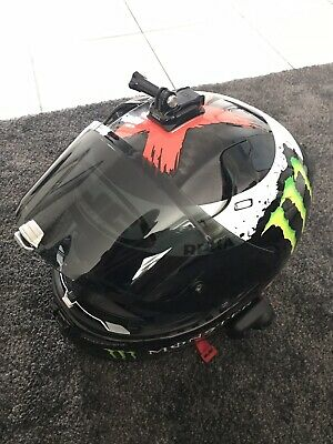 HJC-Motocycle Helmet sz/L Rpha 10 Plus Carbon Lorenzo