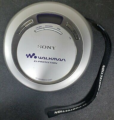 Sony Cd Walkman G-Protection D-Ej621 Personal Cd Player Tested