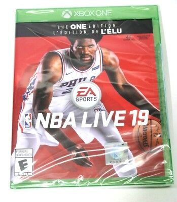 NBA Live 19 The One Edition (Microsoft Xbox One, 2018) Brand New Sealed