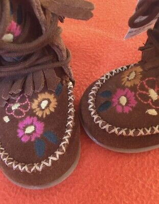 Next Children's Boots - Embroidery and Tassles RRP£28