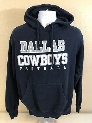 fd5c80783b8 MENS LARGE DALLAS Cowboys Nike Therma Fit On Field blue crew ...
